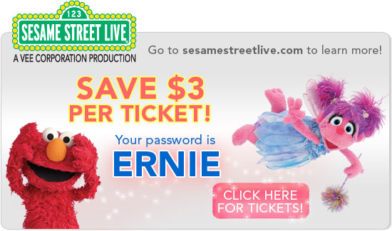 picture of Sesame Street Live Coupon Code