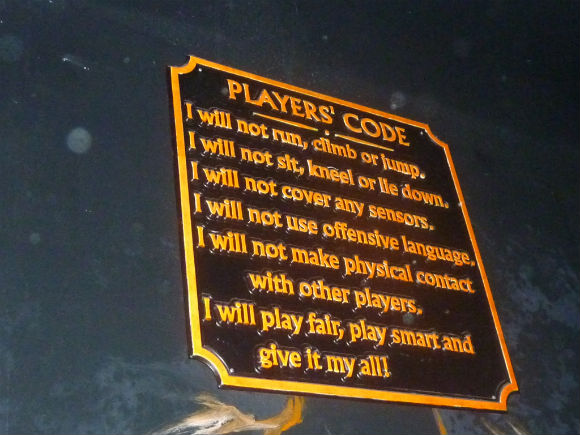 picture of Laser Quest Players Code