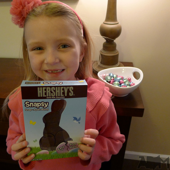 Hershey's Chocolate Easter Bunny Snapsy